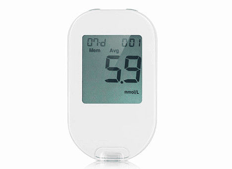 6 Seconds Fast Diabetic Testing Equipment Blood Glucose Meter With Password Code